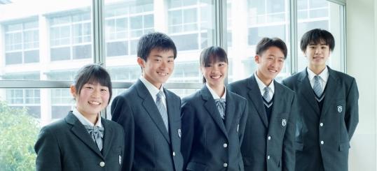北条高等学校制服画像